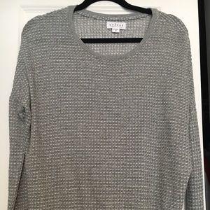 Velvet by Graham & Spencer Gray Sweater S